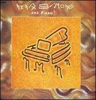 NINA SIMONE Nina Simone and Piano! album cover
