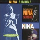 NINA SIMONE The Amazing Nina Simone / Nina Simone at Town Hall album cover