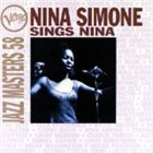 NINA SIMONE Verve Jazz Masters 58: Nina Simone Sings Nina album cover