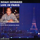 NOAH HOWARD Live In Paris album cover