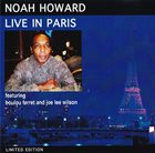 NOAH HOWARD Live In Paris album cover