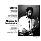 NOAH HOWARD Patterns/Message To South Africa album cover