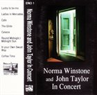 NORMA WINSTONE Norma Winstone And John Taylor : In Concert album cover
