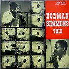 NORMAN SIMMONS Norman Simmons Trio album cover