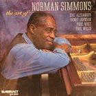NORMAN SIMMONS The Art Of Norman Simmons album cover