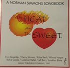 NORMAN SIMMONS The Heat And The Sweet album cover