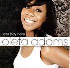 OLETA ADAMS Let's Stay Here album cover