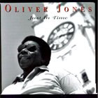 OLIVER JONES Just In Time album cover