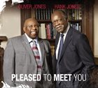 OLIVER JONES Oliver Jones & Hank Jones : Pleased to Meet You album cover