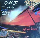 ORCHESTRE NATIONAL DE JAZZ ONJ 88-89 : African Dream album cover