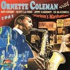 ORNETTE COLEMAN Harlem's Manhattan album cover