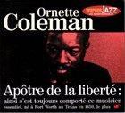 ORNETTE COLEMAN Apôtre De La Liberté album cover