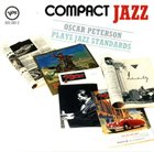 OSCAR PETERSON Compact Jazz: Oscar Peterson Plays Jazz Standards album cover