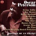 OSCAR PETERSON History of an Artist album cover