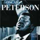 OSCAR PETERSON Midnite Jazz & Blues: On a Clear Day album cover