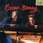 OSCAR PETERSON Oscar Peterson, Benny Green, Ray Brown, Gregory Hutchinson : Oscar & Benny album cover