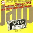 OSCAR PETERSON Oscar Peterson - Illinois Jacquet - Herb Ellis : Blues In Chicago 1955 album cover