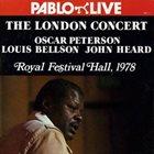 OSCAR PETERSON Oscar Peterson, Louis Bellson, John Heard : The London Concert album cover