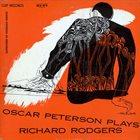 OSCAR PETERSON Oscar Peterson Plays Richard Rodgers album cover
