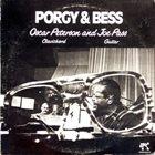 OSCAR PETERSON More Images Oscar Peterson And Joe Pass : Porgy & Bess album cover