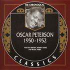OSCAR PETERSON The Chronological Classics: Oscar Peterson 1950-1952 album cover