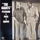 OSCAR PETERSON The Giants (with Joe Pass, Ray Brown) album cover