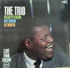 OSCAR PETERSON The Trio (Live From Chicago) album cover