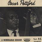 OSCAR PETTIFORD A Memorable Session album cover