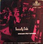 OSCAR PETTIFORD Basically Duke album cover
