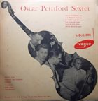 OSCAR PETTIFORD Oscar Pettiford Sextet (aka A Memorable Session) album cover