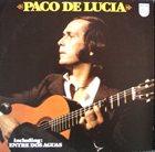 PACO DE LUCIA Paco De Lucía album cover