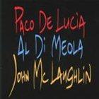 PACO DE LUCIA The Guitar Trio (with Al Di Meola / Paco De Lucía) album cover