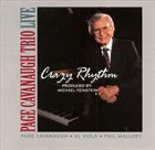 PAGE CAVANAUGH Crazy Rhythm album cover
