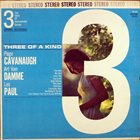 PAGE CAVANAUGH Three Of A Kind album cover