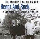 PANDELIS KARAYORGIS Heart And Sack album cover