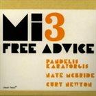 PANDELIS KARAYORGIS MI3 - Free Advice album cover