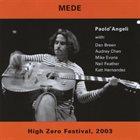 PAOLO ANGELI Mede album cover