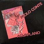 PAOLO CONTE Aguaplano album cover