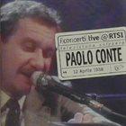 PAOLO CONTE Live @ RTSI album cover