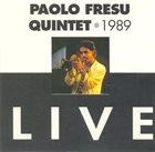 PAOLO FRESU Paolo Fresu Quintet Live album cover