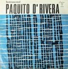 PAQUITO D'RIVERA Instrumental album cover
