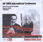 PAQUITO D'RIVERA Paquito D'Rivera & Andrea Merenzon : 29th IDRS International Conference album cover