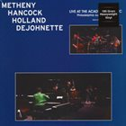 PAT METHENY Live At The ACAD album cover