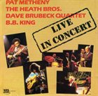 PAT METHENY Live In Concert (with Heath Brothers / Dave Brubeck Quartet, The / B.B. King)(aka The Jazz Masters) album cover