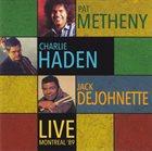 PAT METHENY Live Montreal '89 album cover