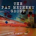 PAT METHENY Live Tokyo '85 album cover