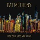 PAT METHENY New York November 1979 album cover