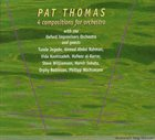 PAT THOMAS 4 Compositions For Orchestra album cover