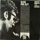 PAUL BLEY Blood album cover
