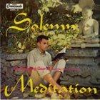PAUL BLEY Solemn Meditation album cover